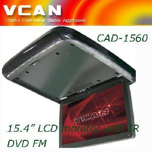 vcan 15 motorized flip tv dvd