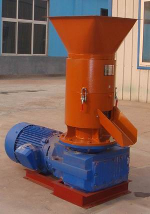 flat mould sawdust pellet machine