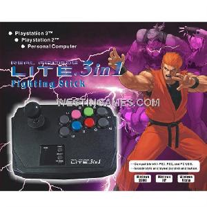 ps3 ps2 pc 3in1 fighting stick arcade lite