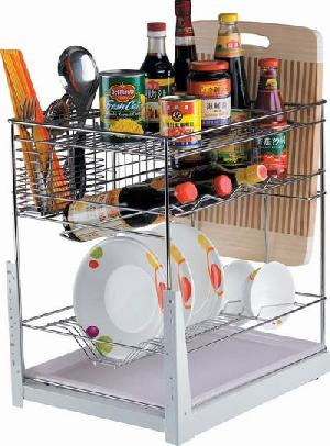 kitchen cabinet wire basket