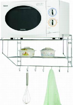 microwave ove metal rack
