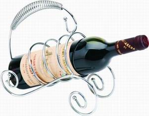 wine holder metal rack