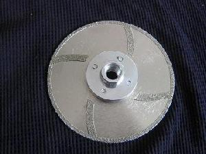 continous rim marble blades turbo protection flange m14 5 8 11
