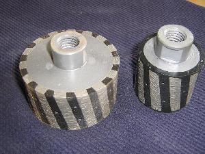 resin filled diamond drum wheels