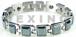 magnetic bracelets gemstones titanium germanium magnet