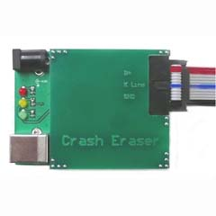 crash eraser deleting faults airbag controllers diagnostic plug