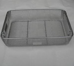 wire mesh basket sterilization stainless steel