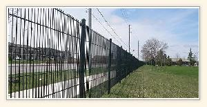 pvc coated fence mesh