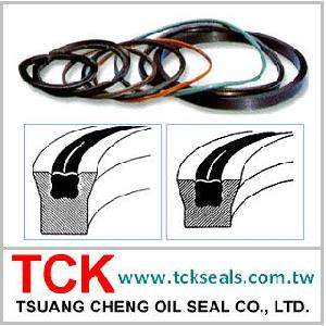poly seals oil