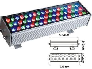 54w led wall washer lights project light