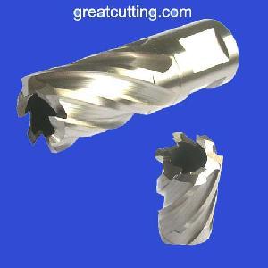 weldon shank annular cutters core drills