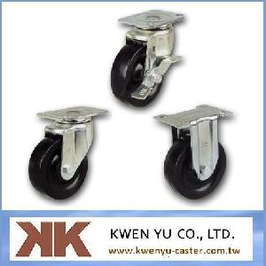 rubber light duty caster castors furniture hardware