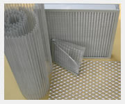 expanded metal mesh filter