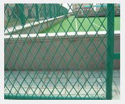 expanded metal mesh wire fence