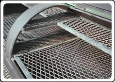 expanded wire mesh sheets steel screen