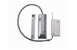 scroll magnetic shutter alarm system
