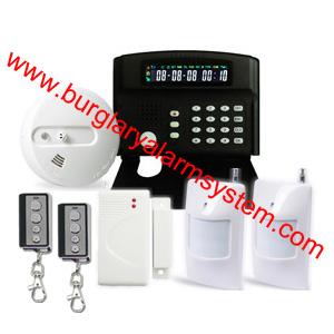 wireless burglar alarm system cellular network