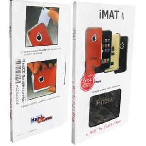 screen protector genuine leather mat skin iphone