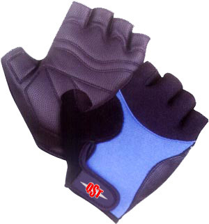 fingerless cycle gloves