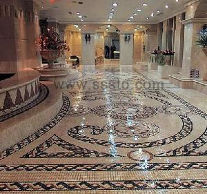 China Supplier And Exporter Of Granite / Marble Mosaics Pattern And Tiles