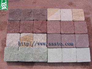 supplier stone sandstone cubestone granite cubes