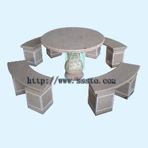 manufacturer exporter granite table meeting tables stone chair garden furnitures