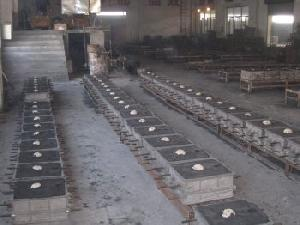 glass mould casting metal foundry shop