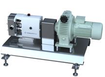 lobe pump rotor gear butil drehkolbenpumpe