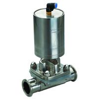 pneumatic diaphragm valve clamp weld threaded flange