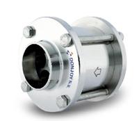 check valve flange spring