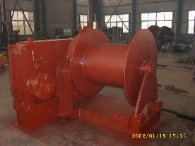 10t hydraulic anchor winch