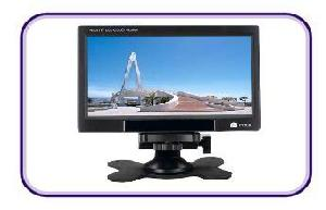 export 7inch stand car lcd monitor