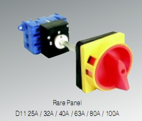 changeover switch plastic plate cooper components