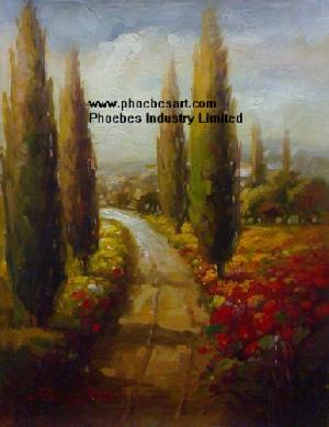 hand oil paintings landscape