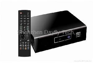 sata wifi network 1080p hdd media players mkv wmv flv player realtek1073 chipset