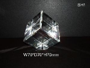 blank crystal