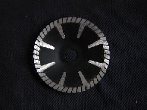 diamond contour blades turbo segmented undercutting protections