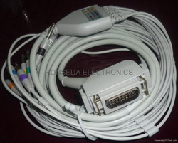 siemens ecg cable 10 leadwires aha iec cardiostat 31 31s1 3t 703 710 helligeek36