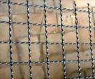 acoplamiento de alambre prensado crimped wire mesh