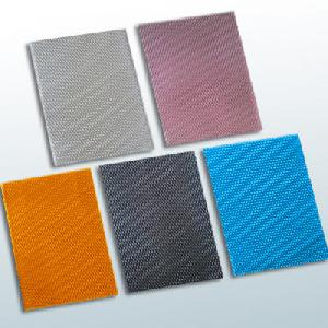 silver bule racing car grill mesh
