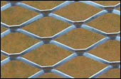 engranzamento de fio expandido aluminum expanded metal mesh sheet