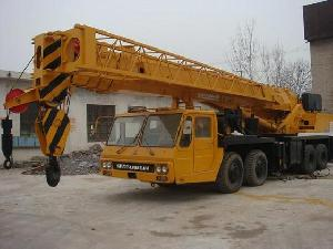 tadano mobile truck crane 50ton mitsubishi carrier conditions