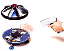 rc flying saucer ufo launch pad disc