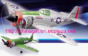 r c redio remote control 4 channels p 47 thunder airplane
