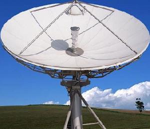 4 5 meter earth station antenna