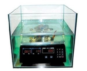 counting waterproof scale weighing water fish tank underneath