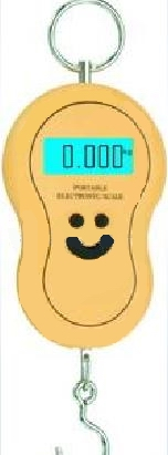 gourd shaped electronic scale 40kg 10g blue backlight factory manufacturer