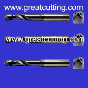 solid carbide twist drills internal coolant holes din6537