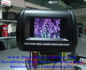 car taxi cab lcd screen monitor advertising 7 ad723v promotional