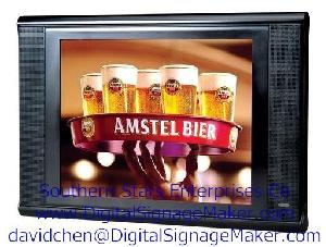 instore lcd industrial supermarkets media player screen point 15